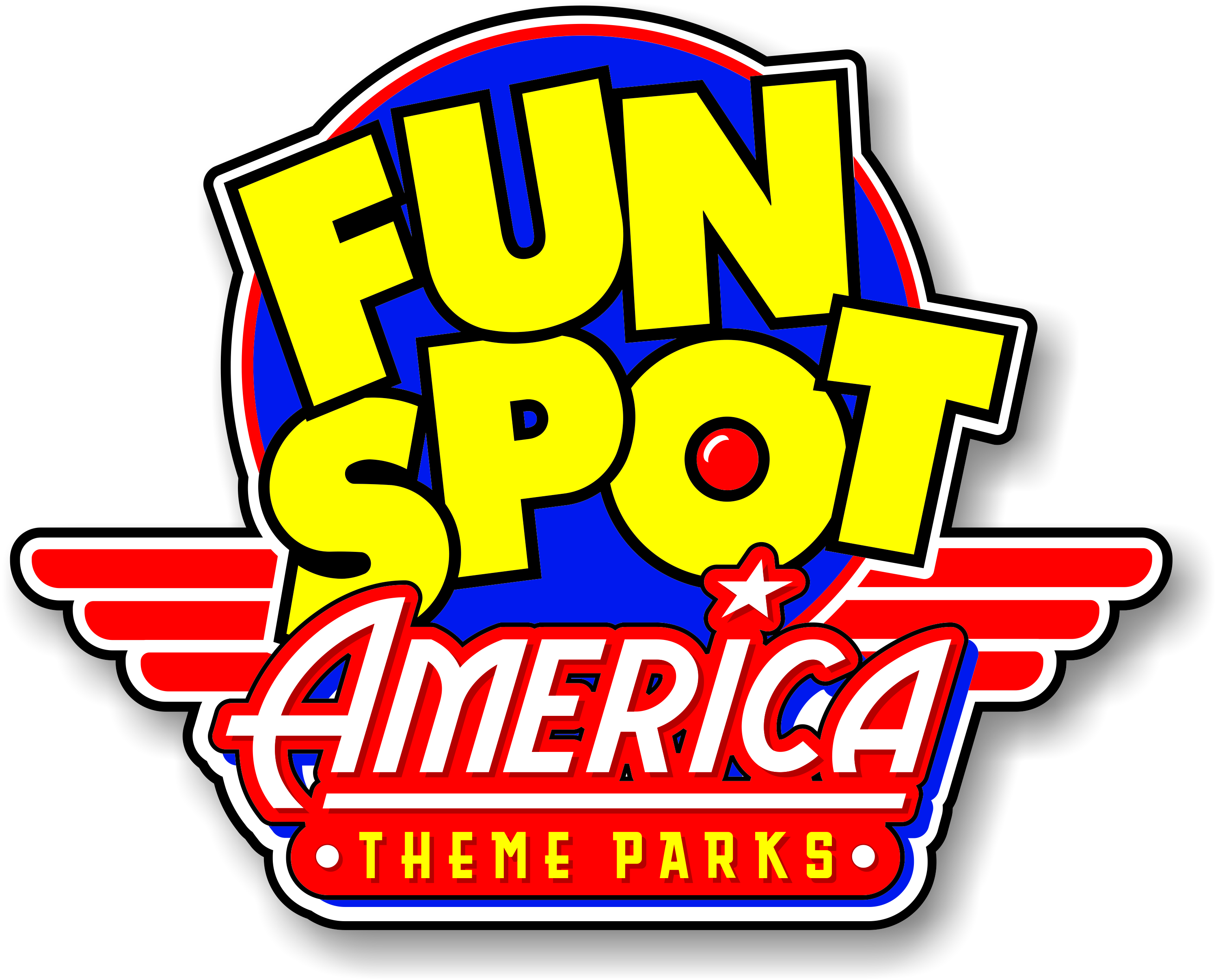 Fun Spot America Theme Park logo cmyk hi res w shadow
